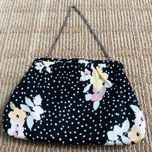 Banana Republic Silk framed purse